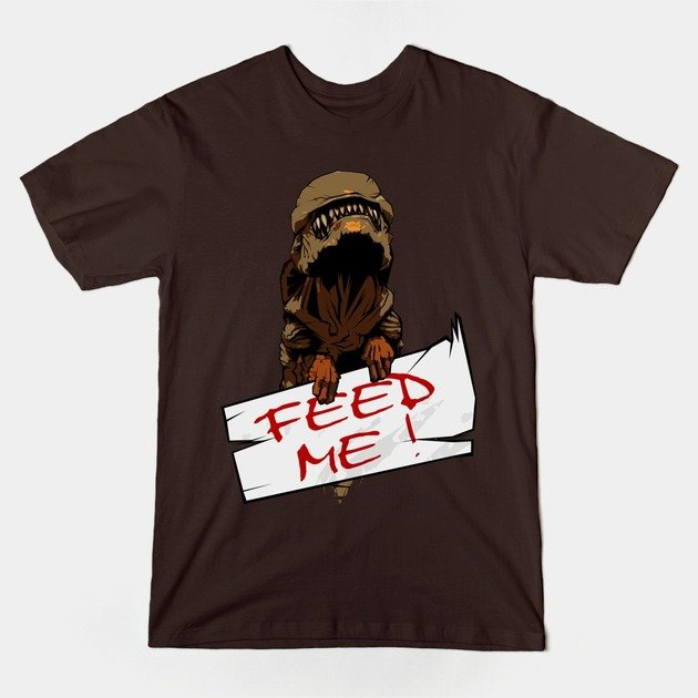 teepublic-FeedMe-AlienShirt